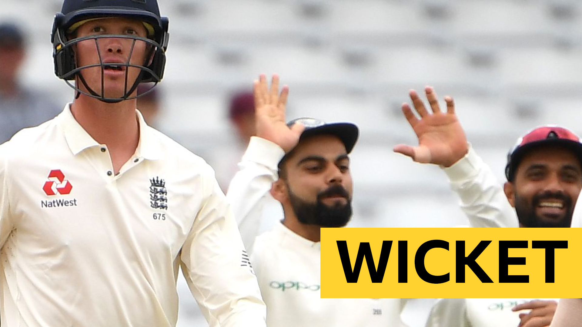 England v India: Keaton Jennings fails to add to overnight score