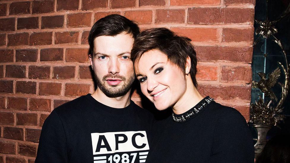 Eugenia Kuyda y Roman Mazurenko