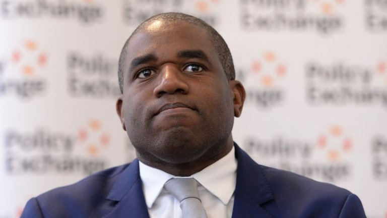 Oxford University involved in Twitter row with David Lammy