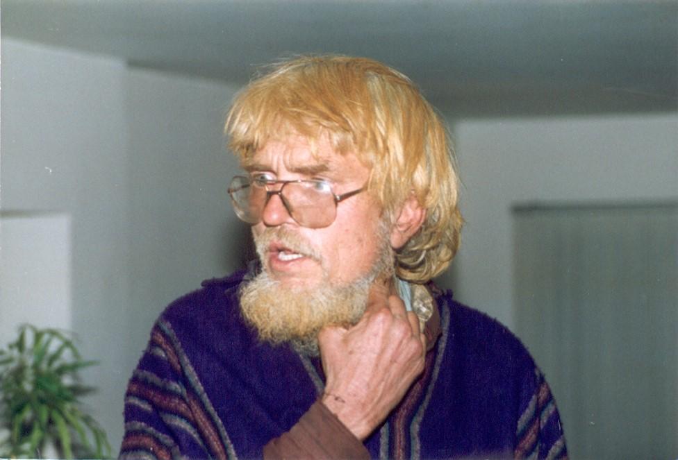 Tom Hargrove después de su liberación.