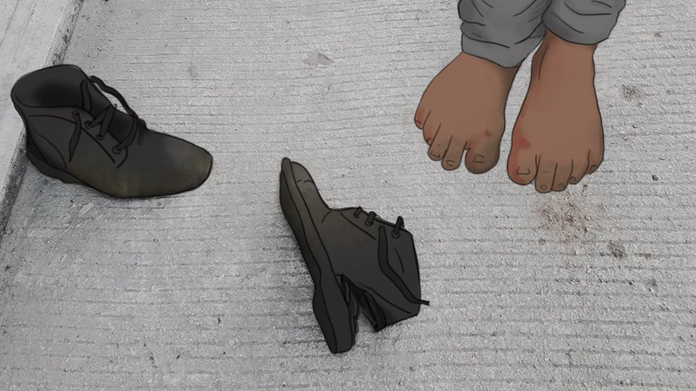 Eduardo y sus botas