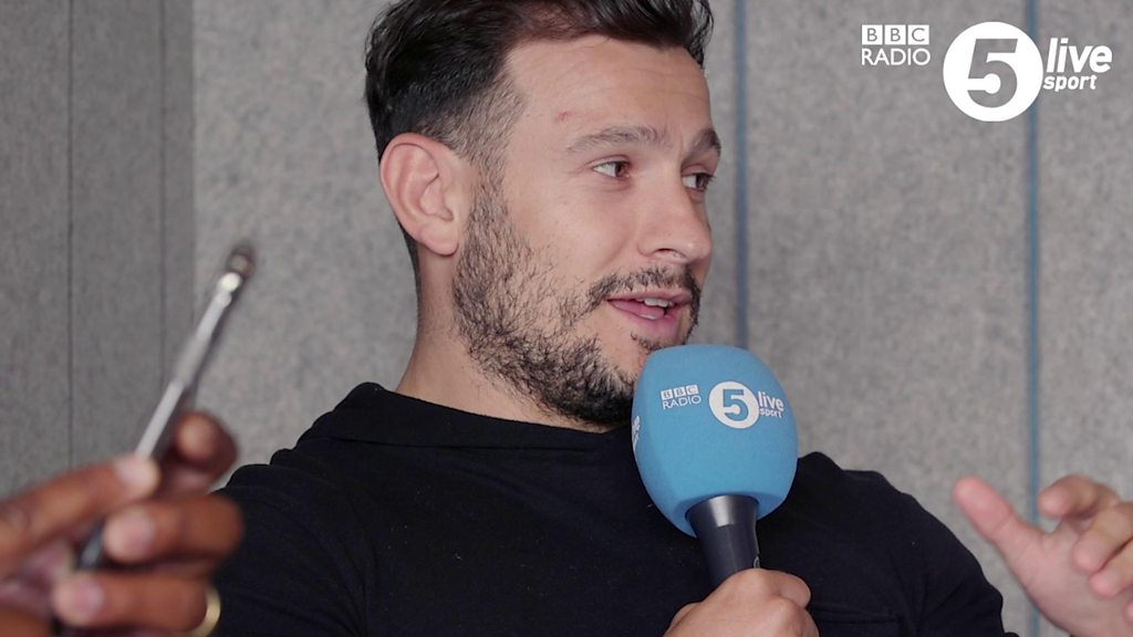 Watch: The one where Danny Care temporarily joined Take That