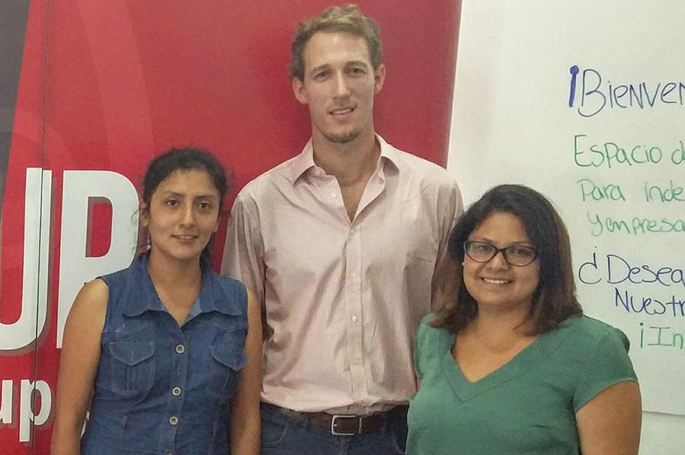 Bitia Chávez, Pipo Reiser y Andrea Rivera