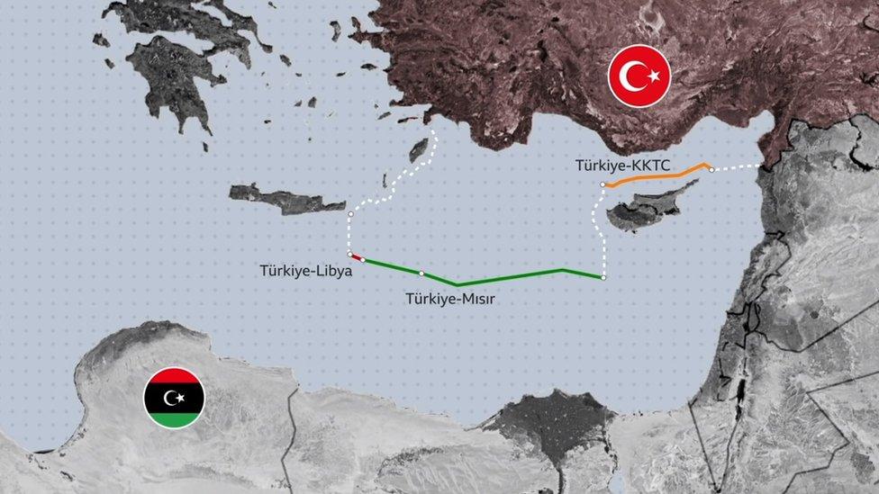 Türkiye ve Libya'nın imzaladığı deniz yetki alanları anlaşması