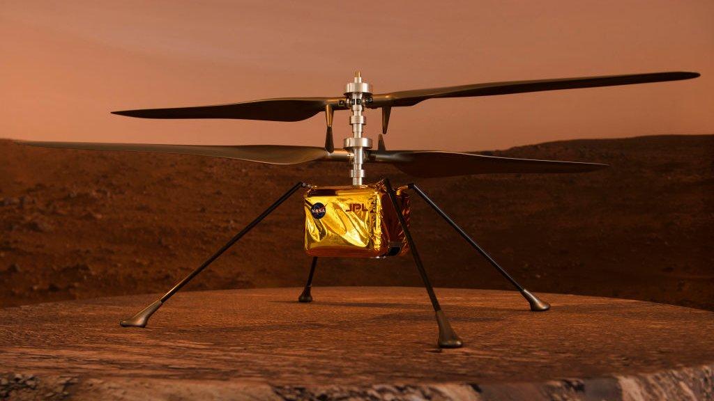 Вертолет на Марсе: аппарат NASA
