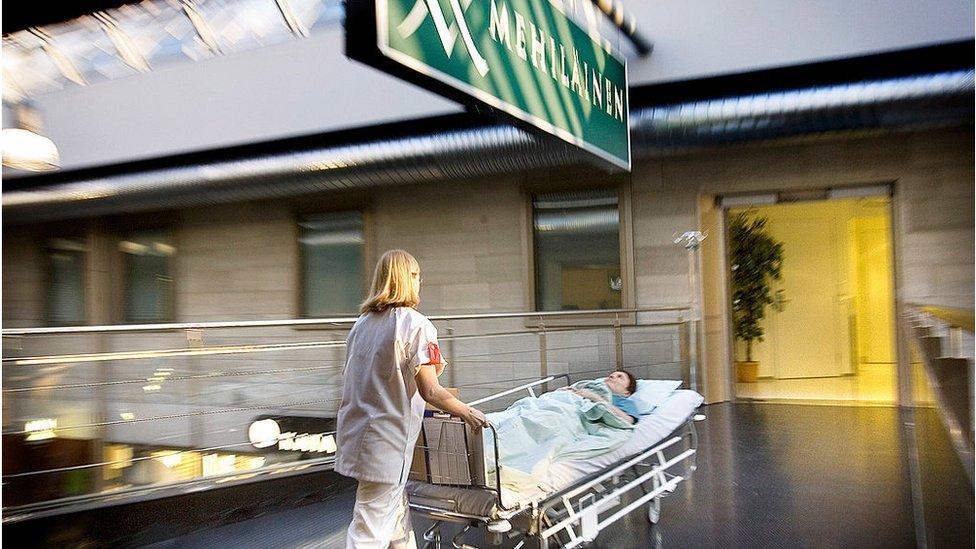 Hospital en Finlandia