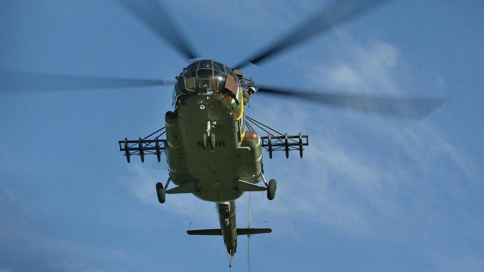 В Афганістані розбився гелікоптер: загинули двоє українців