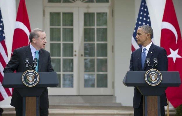 Recep Tayip Erdoğan ve Barack Obama