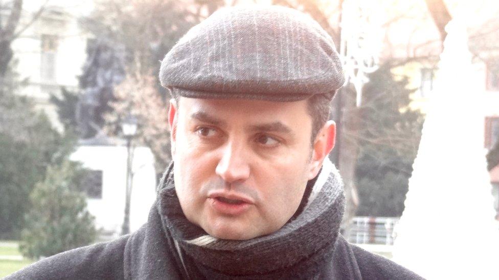 Peter Marki-Zay, BBC file pic
