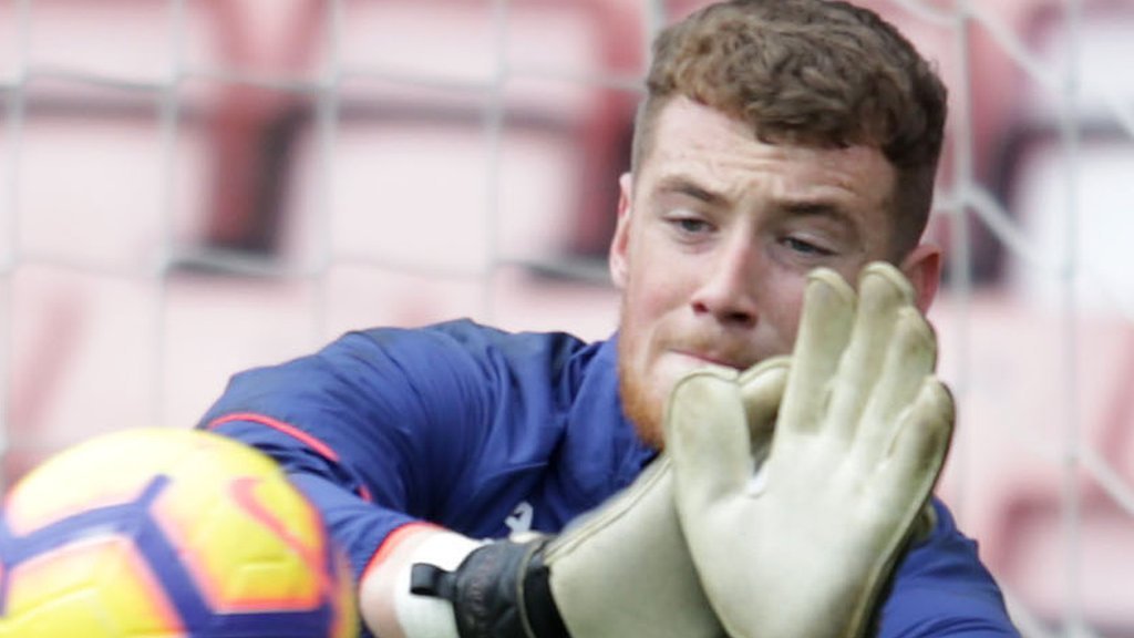 Mark Travers: Goalkeeper to miss Republic qualifiers because of fractured thumb