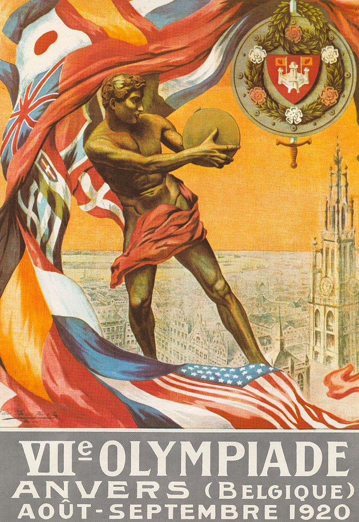 La imagen de Amberes 1920