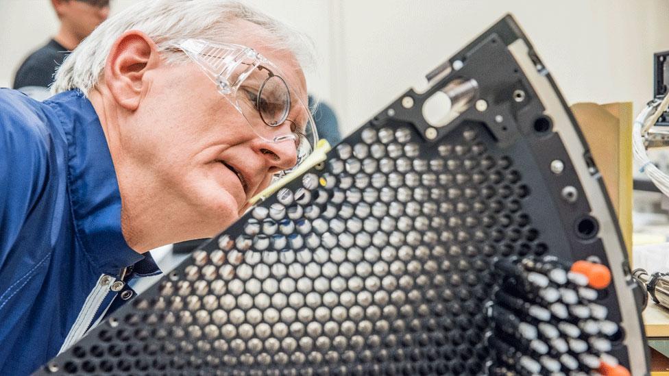 Stu Harris del Laboratorio del Laboratorio Nacional Lawrence Berkeley