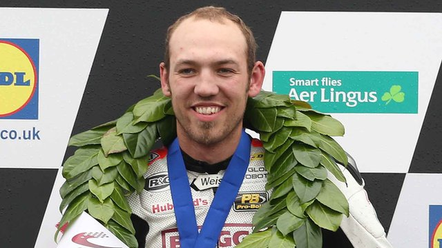 Peter Hickman was a winner at last year's Ulster Grand Prix and Macau Grand Prix