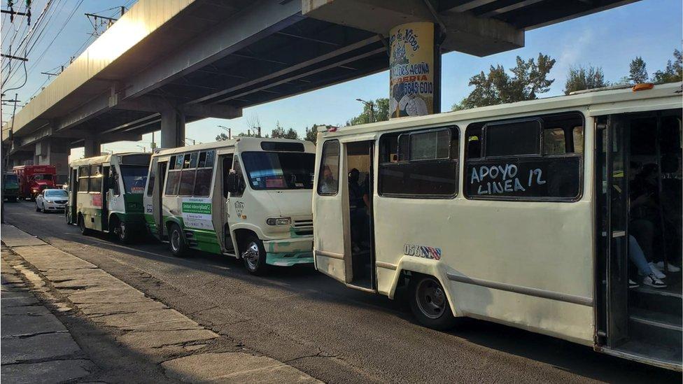 Buses de apoyo
