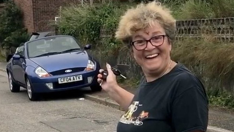 Son surprises mum with sacrificed car after 12 years