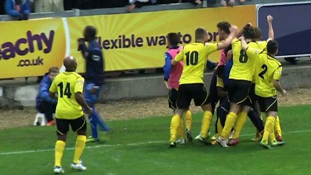 Bristol Rovers 0-1 Chesham (Blake 77')