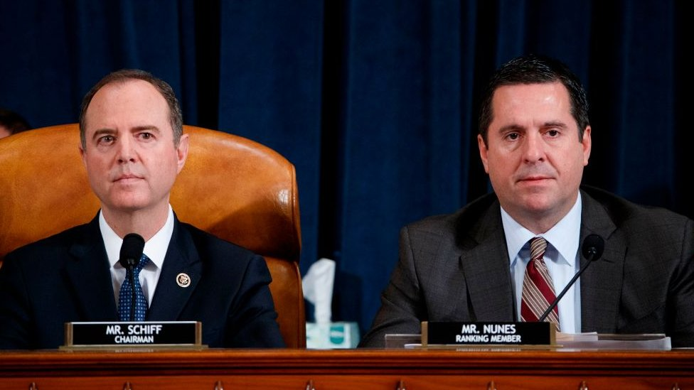 Both Nunes and Schiff represent the state of California