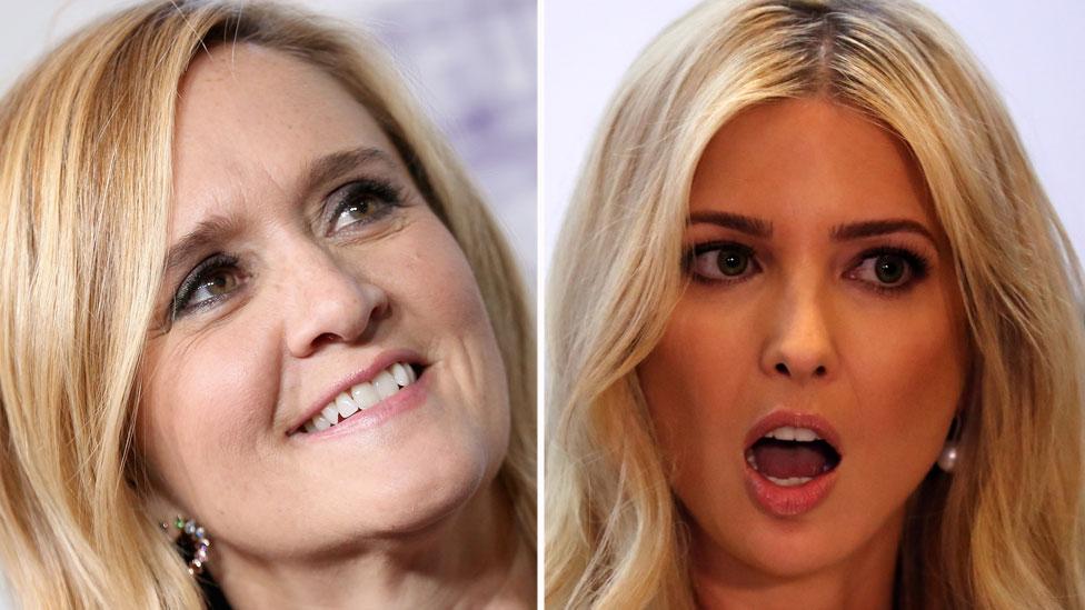 Trump se va contra comediante por insultar a Ivanka