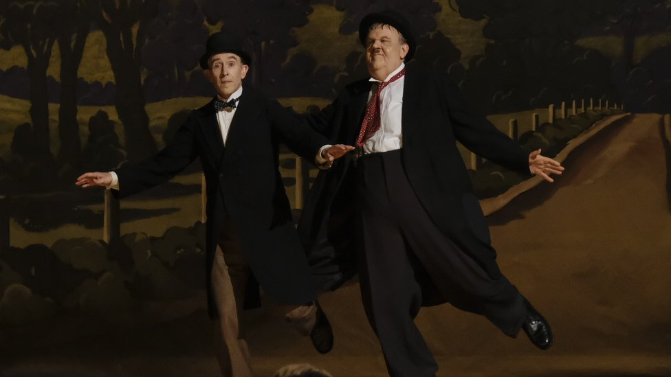 Steve Coogan and John C Reilly in Stan & Ollie