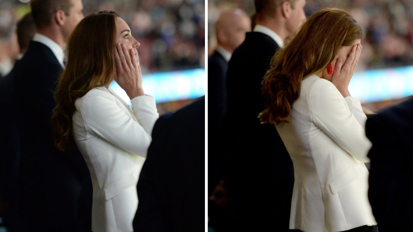 The Duchess of Cambridge at Wembley