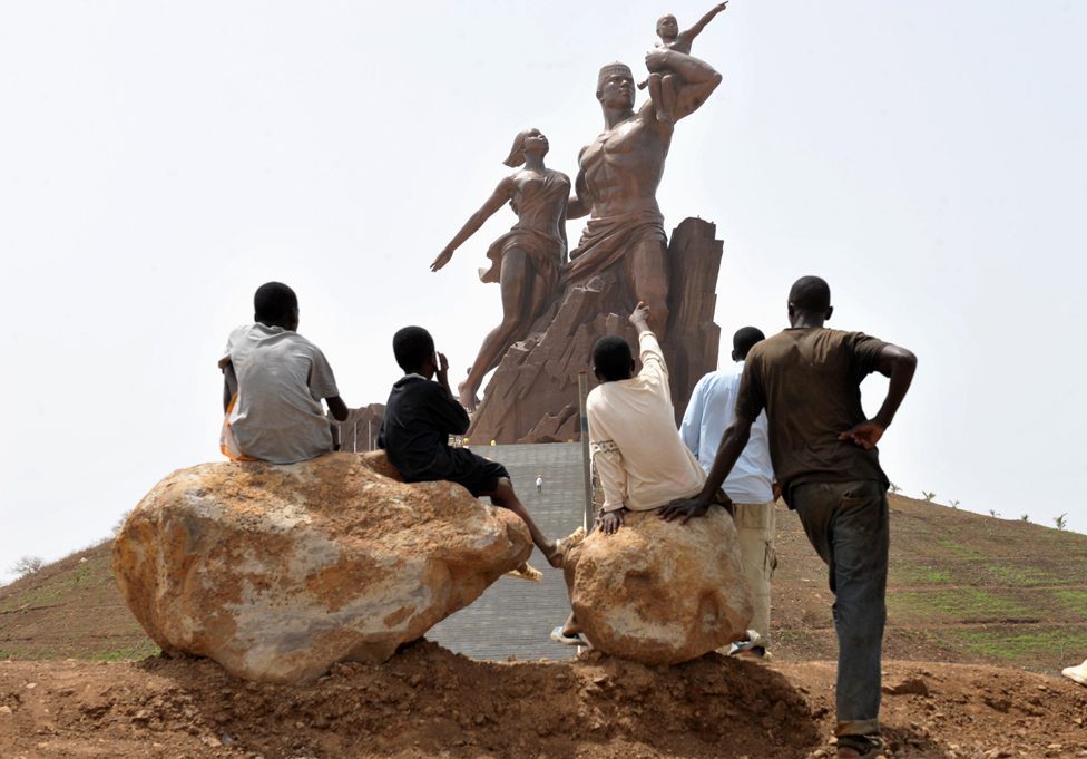 The African Renaissance Monument
