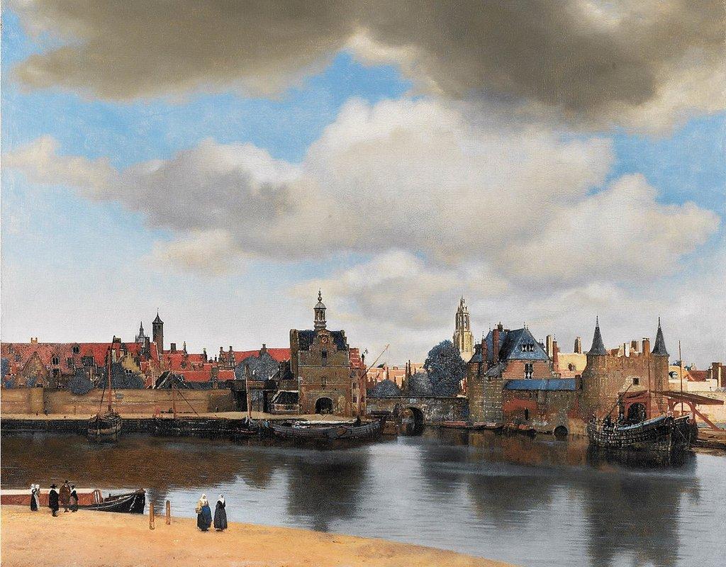 """""""La vista de Delft"""""""