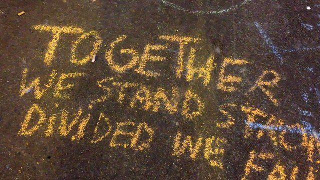 Chalk message