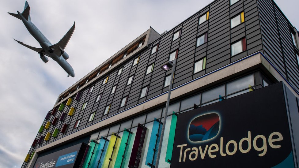 Londra Heathrow Havalimanı yakınında bir otel