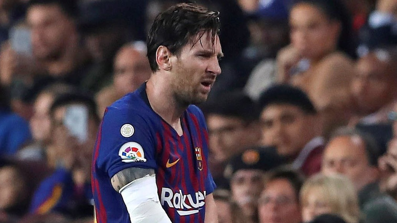 Messi to miss El Clasico after injury in Barca win