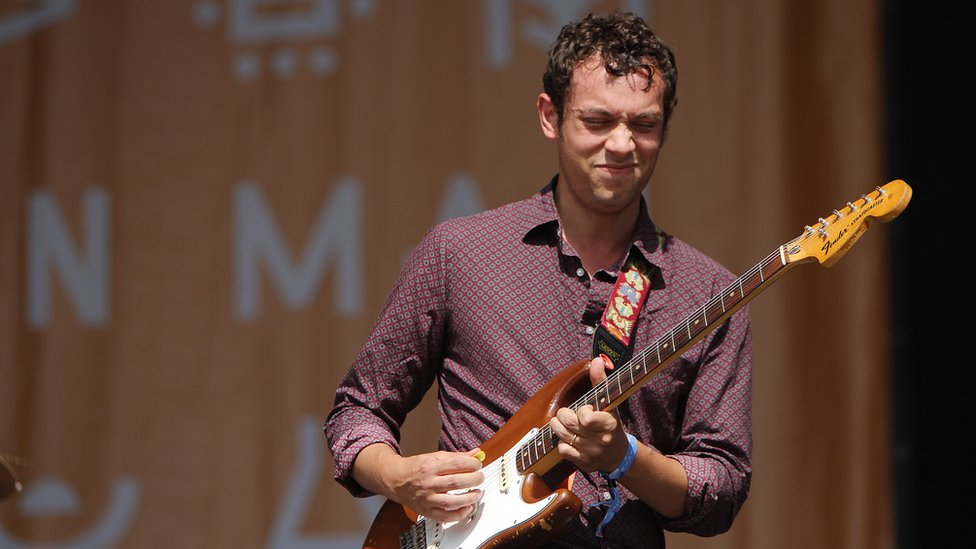 David Page performs with Colorama at the Mountain Stage
