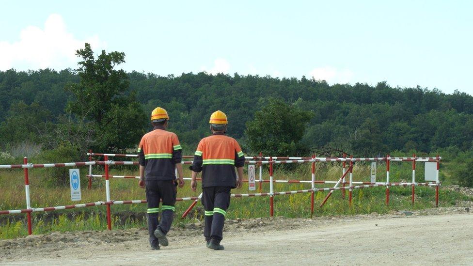 Radnici jednog od rudnika u Boru