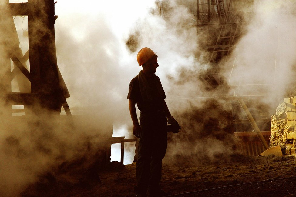 demir çelik işçisi