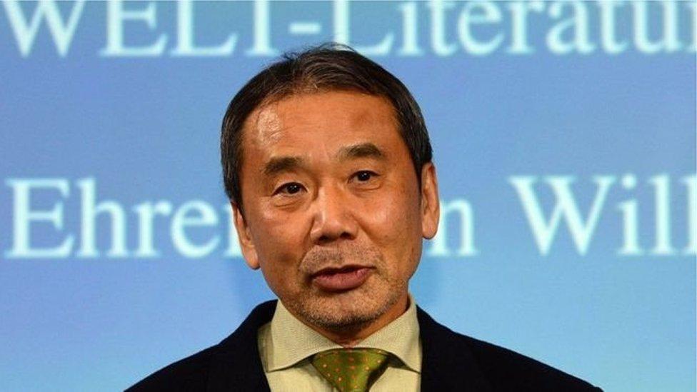 Японський письменник Харукі Муракамі