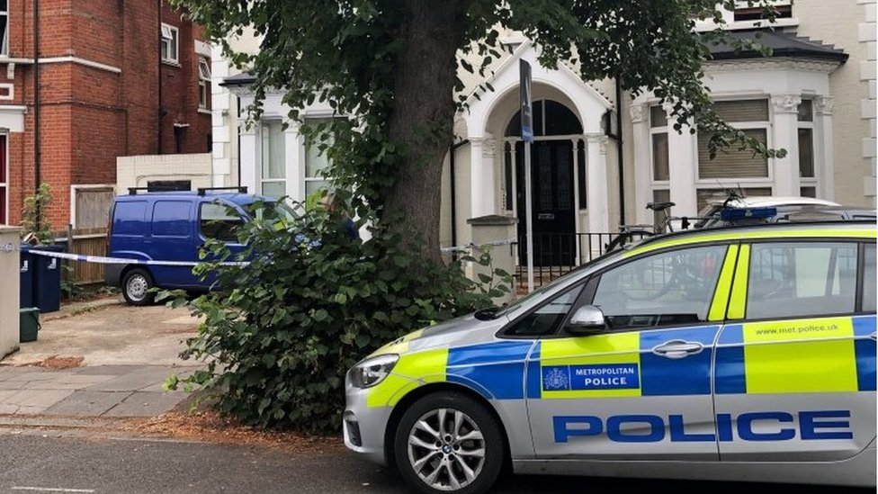 Woman held over death of 10-year-old in Acton, west London - BBC News