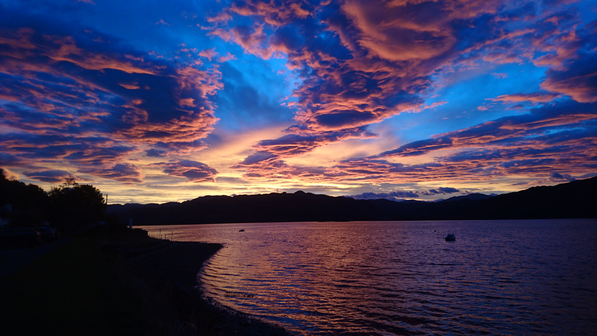 Sunrise in Lochcarron