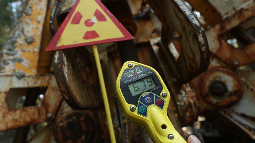 Detector de radiación