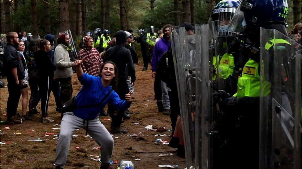Thetford Forest rave