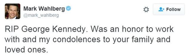 Mark Wahlberg tweet
