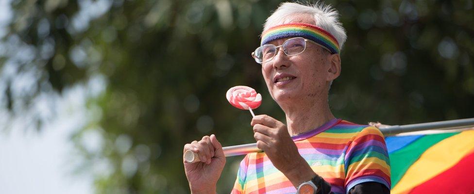 LGBT aktivista na Tajvanu