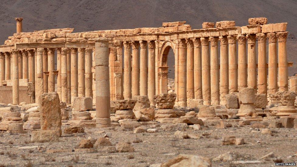 Velike kolonade u Palmiri