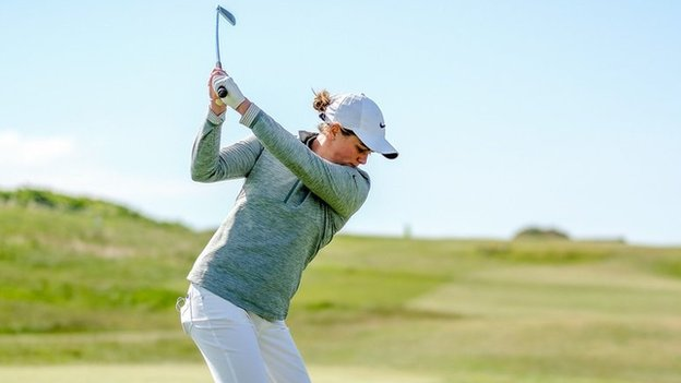 Hannah McCook: Diabetic Scottish golfer uses Steve Redgrave as inspiration