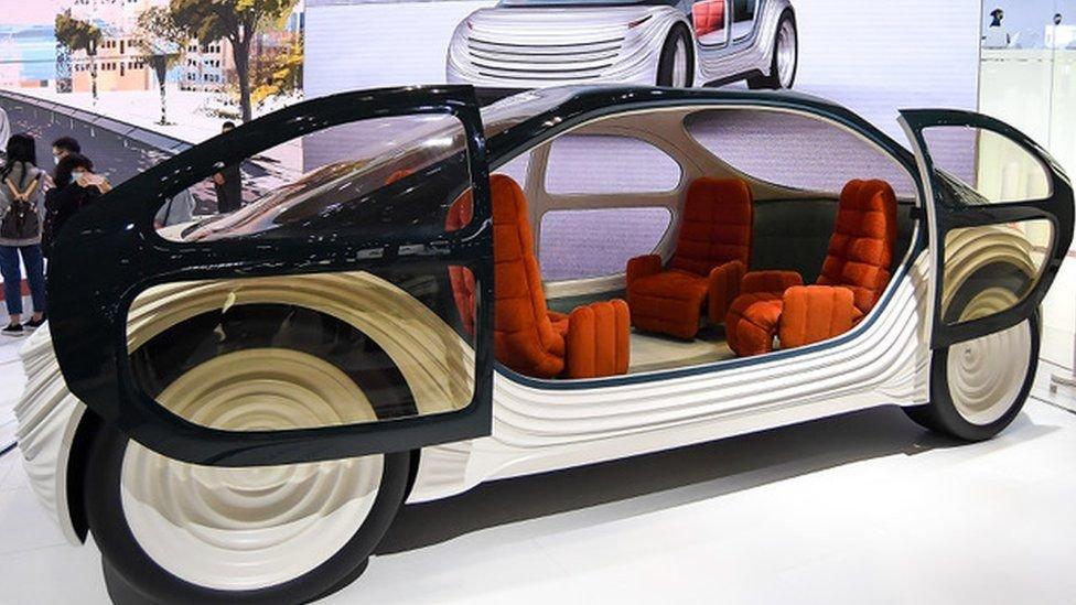 سيارة صينية جديدة تنقي الهواء