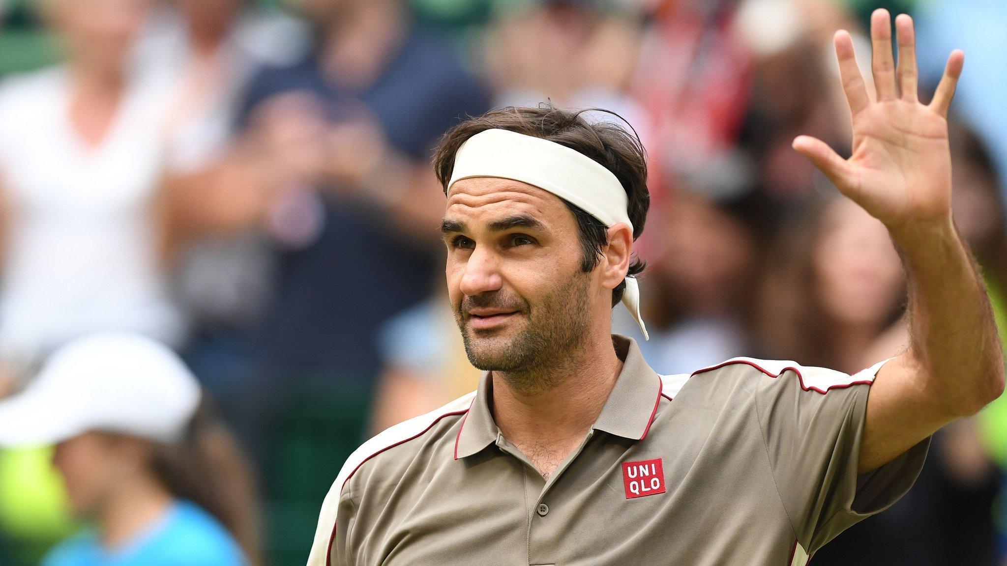 Federer and Zverev reach Halle quarter-finals