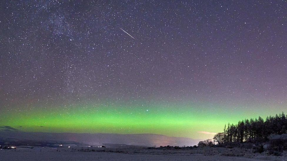 Aurora borealis, Belladrum