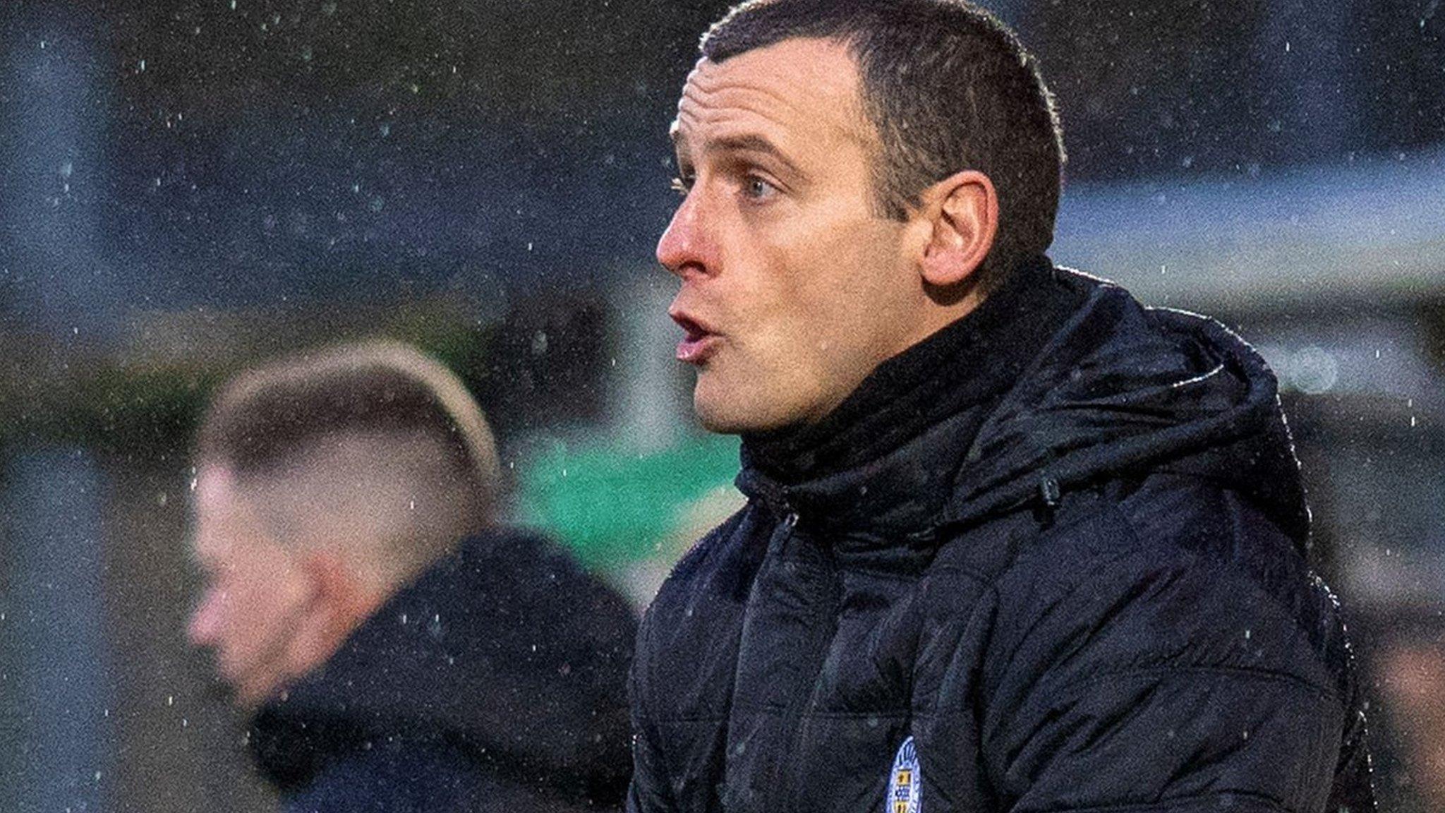 St Mirren: Oran Kearney 'embarrassed' by loss at Livingston