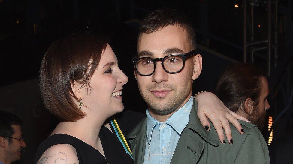 Lena Dunham and her boyfriend Jack Antonoff