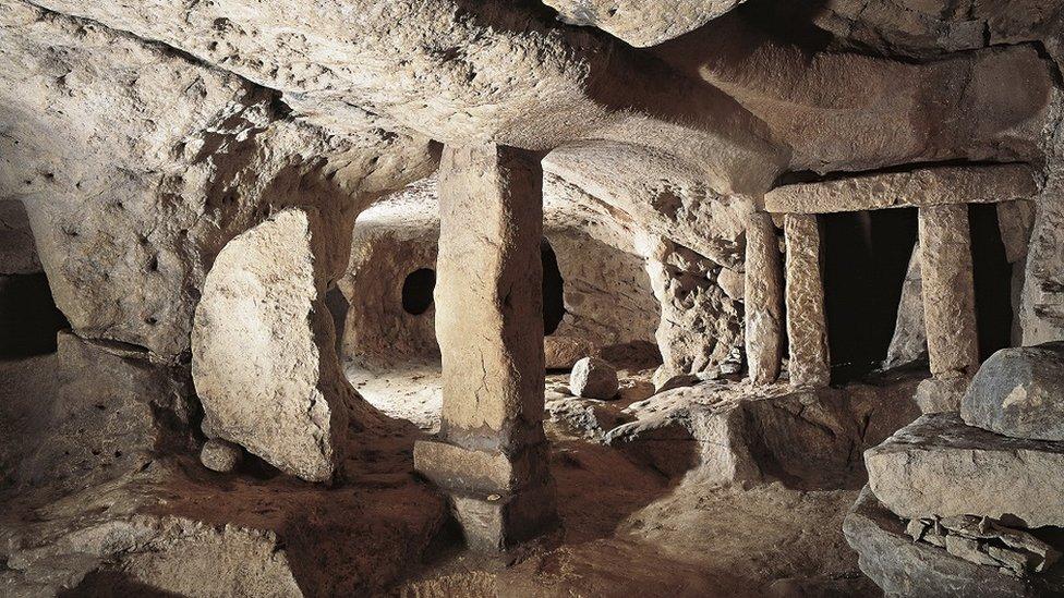 El Hal Saflieni Hypogeum en Malta