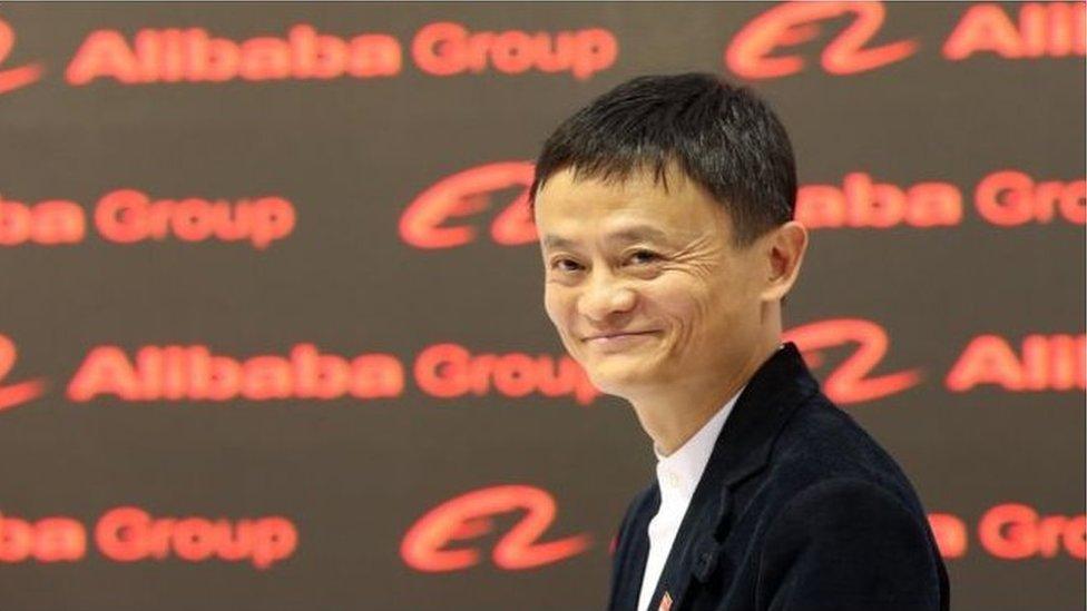 جاك ما، مؤسس ومدير شركة علي بابا