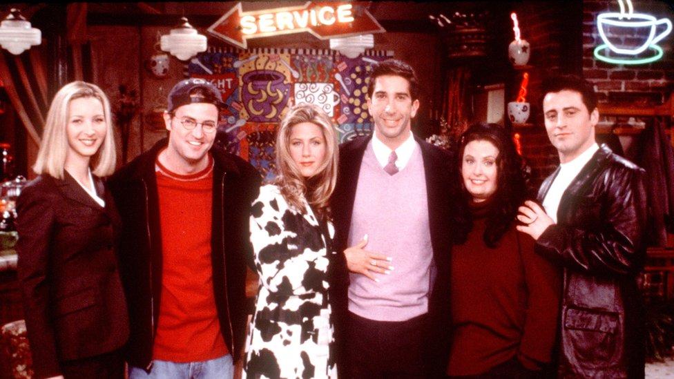"""Capítulo """"Lo que podría haber sido"""" de Friends"""