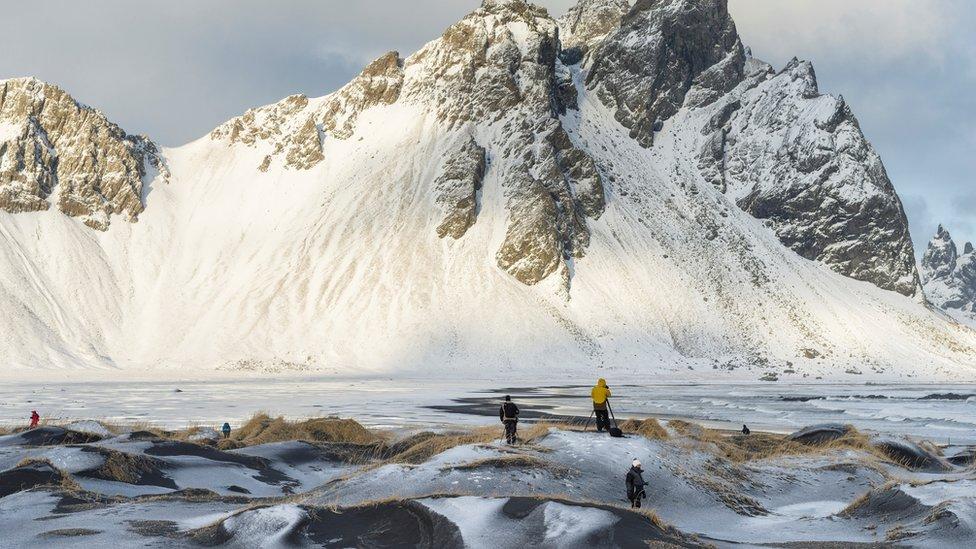 Fotografi na Islandu